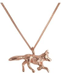 By Emily - Fox Trot Necklace - Lyst