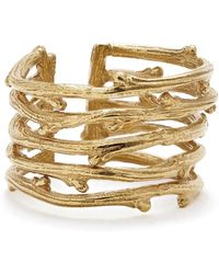 Chupi - Love Is All You Need Twig Ring Gold - Lyst