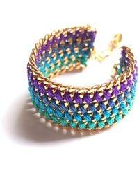Miss High & Low - Vertigo Bracelet Gold - Lyst