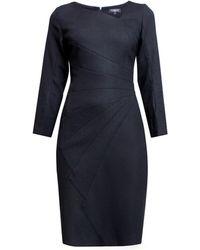 Rumour London   Alice Tailored Dress With Asymmetric Neckline   Lyst