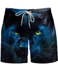 Aloha From Deer - Leopard Board Shorts - Lyst