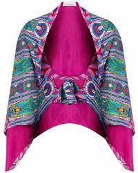 Jennifer Rothwell - St Patrick's Print Reversible Pink Wrap - Lyst