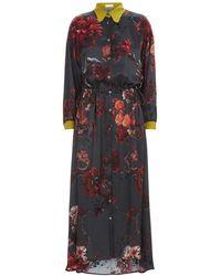 Klements - The Escapist Dress In Gothic Floral Print - Lyst