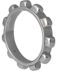 Edge Only - Worry Ring Mens Silver - Lyst