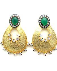 Meghna Jewels - Saya Earrings - Lyst