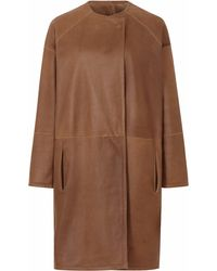 Gushlow and Cole - Hazel Collarless Over Coat - Lyst