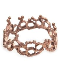 Annabelle Lucilla Jewellery - Apollo Ring Rose Gold - Lyst