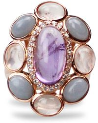 Bellus Domina - Amare Angelite Ring - Lyst