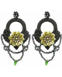 Ricardo Rodriguez Design - Flora Earrings - Lyst