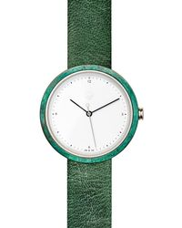 Flint Watches - Turquoise Patina Verdigris Strap - Lyst