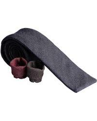 Rosemary Goodenough - Denim Dark Blue Cotton Tie - Lyst