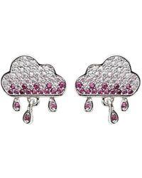 Opes Robur - Storm Cloud Earrings - Lyst