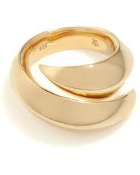 Kasun - Vampire Claw Ring Gold - Lyst