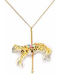 Hop Skip & Flutter - Princess Butterscotch Rabbit Portrait Pendant Necklace - Lyst