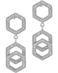 On Aura Tout Vu - Ruche Earrings - Lyst