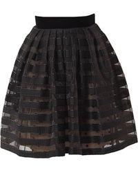 Victor Xenia London - Onyx Skirt - Lyst