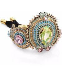 Izabela Felinski - Luminous Green Bracelet - Lyst