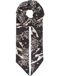 Klements - Razor Scarf Tear Garden Print - Lyst