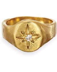 Chupi - Your North Star Ring In Gold - Lyst