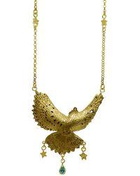 Annabelle Lucilla Jewellery - Divine Ocean Dove Pendant - Lyst