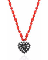 Gozde Atli - Love & Happiness Coral Love Necklace - Lyst