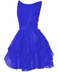 Philosofée - Illusions Dress Royal Blue - Lyst