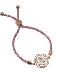 Hoochie Mama - Rose Medallion Friendship Bracelet - Lyst