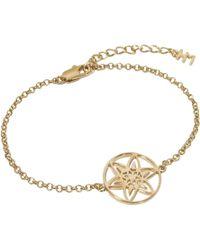 Hoochie Mama - Daffodil Medallion Bracelet - Lyst