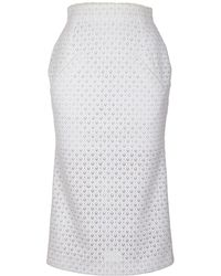 Jiri Kalfar - White Pencil Skirt - Lyst
