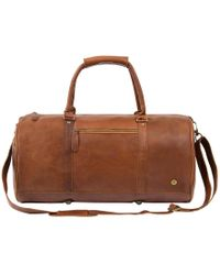 MAHI - Overnight Gym Bag In Vintage Brown - Lyst