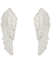 LÁTELITA London - Large Angel Wing Earring Silver - Lyst