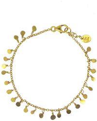 Yvonne Henderson Jewellery - Tiny Sequin Bracelet Gold - Lyst