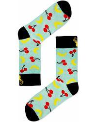 Aloha From Deer - Cherry Banana Cotton Socks - Lyst