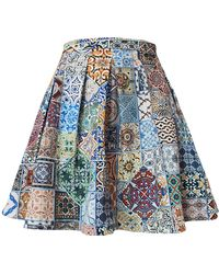 My Pair Of Jeans - Tiles Skirt - Lyst
