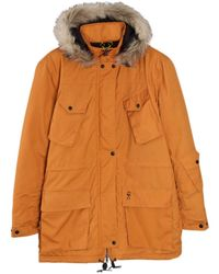 Roamers & Seekers - Explore Orange Padded Parka - Lyst