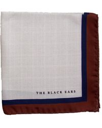 The Black Ears - The Brown Classic Style Pocket Square - Lyst