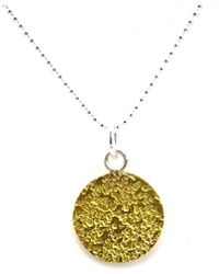 DE-CO JEWELLERY - Silva Gold Signo Necklace - Lyst