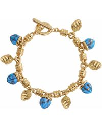 LMJ - Sunshine Twist Charms Bracelet - Lyst