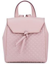 Alexandra De Curtis - Hepburn Mini Backpack Blush Pink Scudo - Lyst