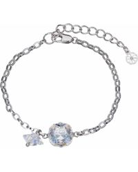 Nadia Minkoff - Patina Stone & Spike Bracelet Silver - Lyst
