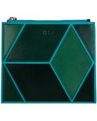 HEIO - The Cube Mitjana Medium Clutch - Lyst