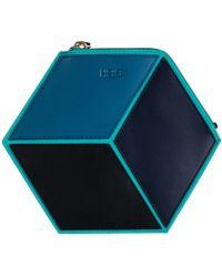 HEIO - The Cube Macarella Small Clutch - Lyst