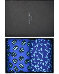 KLOTERS MILANO - Number Seven And Dice Fantasy Socks Pack - Lyst
