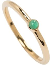 Joana Salazar - The Calendar Emerald Solitaire - Lyst
