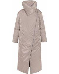 InAvati - Waterproof Coat Wth Camel Wool Beige - Lyst