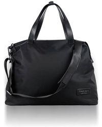 Charlie Baker London - Hamburg Weekend Light Weight Travel Bag In Black - Lyst