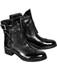 De Siena - Blanca Fringe Boot - Lyst