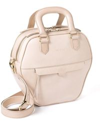 NINE TO FIVE - Mini Bag Eisbach Nude - Lyst