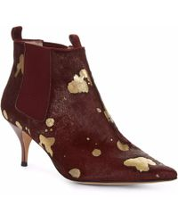 Lucy Choi - Beaumont Burgundy & Gold - Lyst