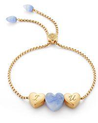 LMJ - Luv Me Blue Howlite Bracelet - Lyst